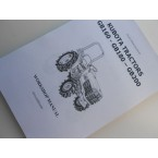 Manual de taller Kubota GB