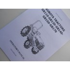 Manual Kubota GB